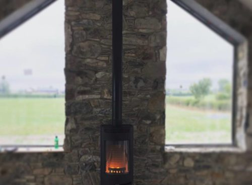 thorma stove, freestanding, granite hearth, slate hearth, woodburning, multifuel, Bangor, Newtownards, Belfast, Holywood, Conlig, Stove yard, Fireplaces, flue pipe, hearths, room heater